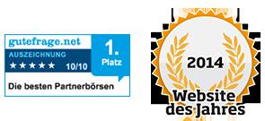 Unsere Kunden gehören zu den zufriedensten Kunden Deutschlands. Nicht umsonst wurde ${host} dank der kundenorientierten Ausrichtung  zur besten Partnerbörse auf gutefrage.net und zur Website des Jahres 2012 im Bereich Dating gewählt.