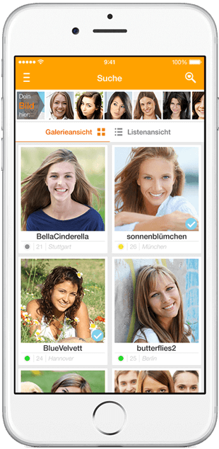 Einzelne Dating-Apps