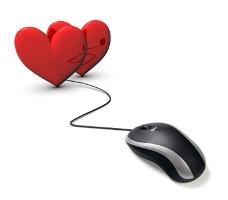 Online Dating lässt auf ganz bequeme Weise Singleherzen höher schlagen.