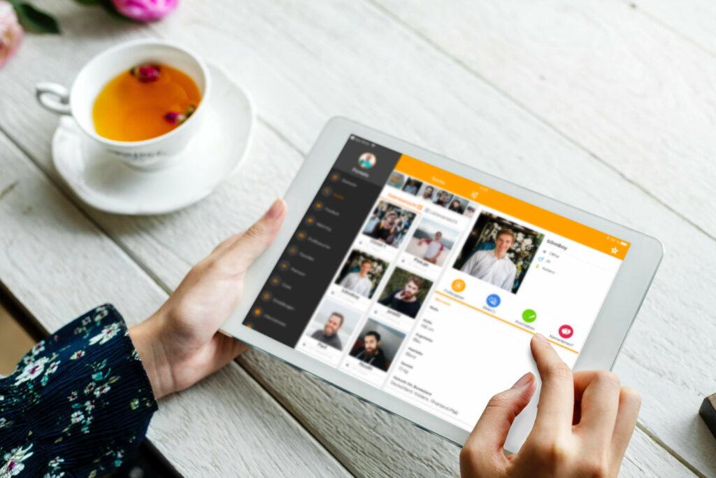 Bildkontakte ist eine kostenlose Singlebörse