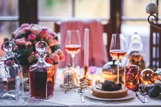 Ein romantisches Dinner, der Klassiker.