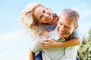 Für die große Liebe ist man nie zu alt.
