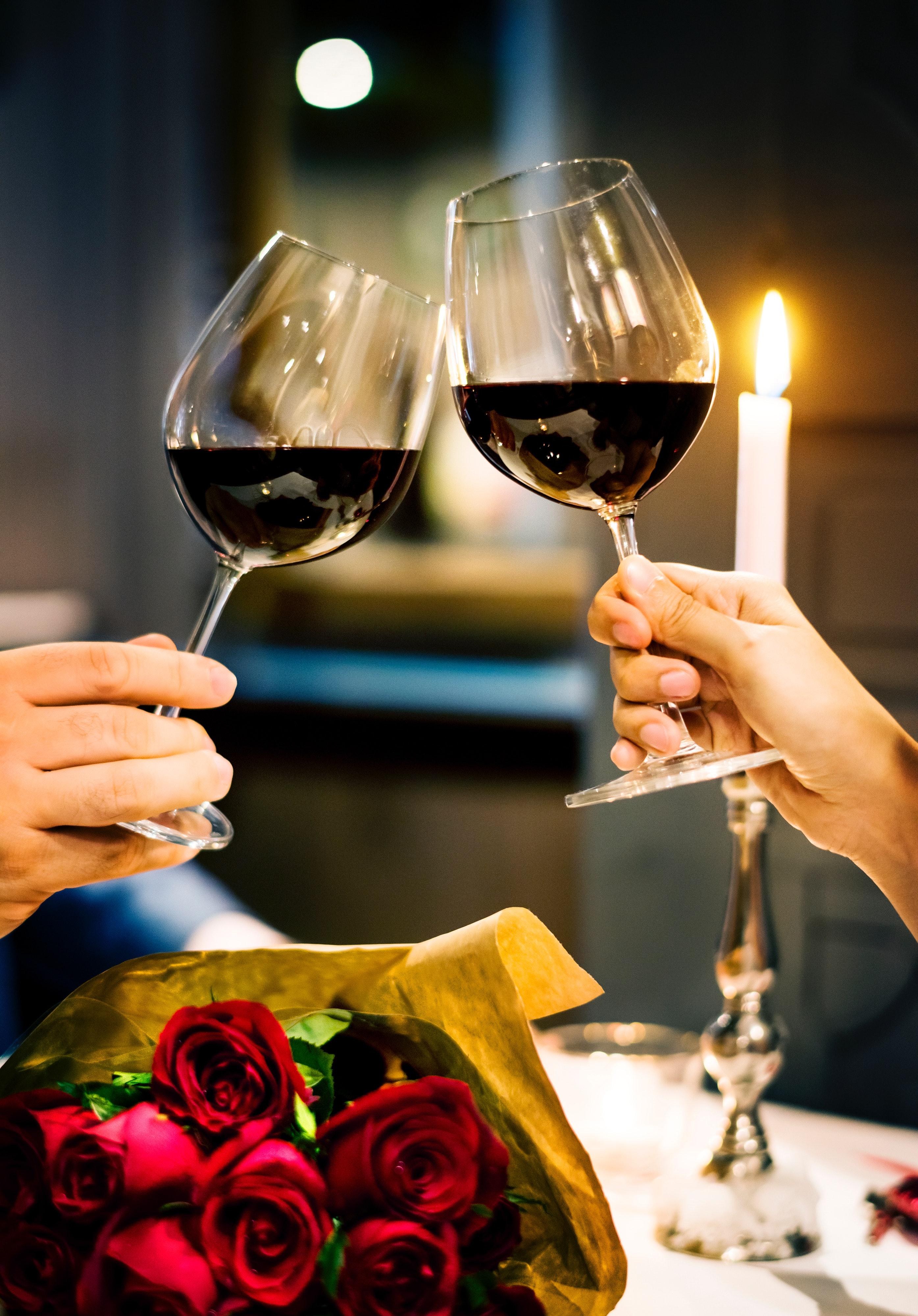Geschenkidee: ein romantisches Essen zu zweit